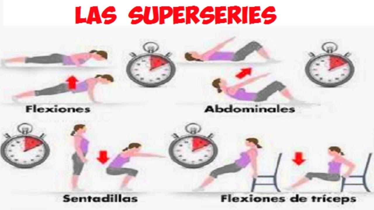 Videos de rutinas de ejercicios en casa para bajar de peso