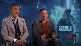 Ken Watanabe & Michael Dougherty Interview - Godzilla: King Of The Monsters