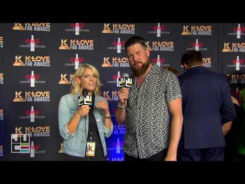 Zach Williams   Red Carpet   K-LOVE Fan Awards 2017