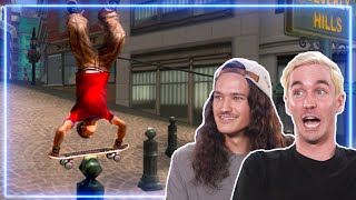 Professional Skateboarders React to Tricks from Tony Hawk's American Wasteland | Experts React