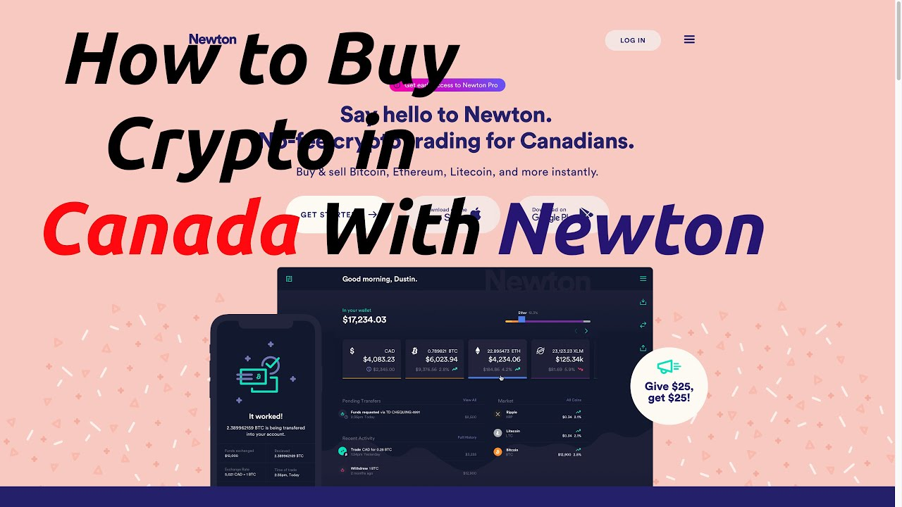 How To Buy Crypto With Newton Co (Get $25 FREE!)