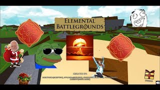 Buying Explosion ¦ Roblox Elemental Battlegrounds