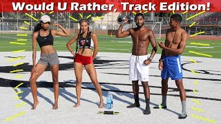 Would You Rather College Track and Field Edition! 🏃
