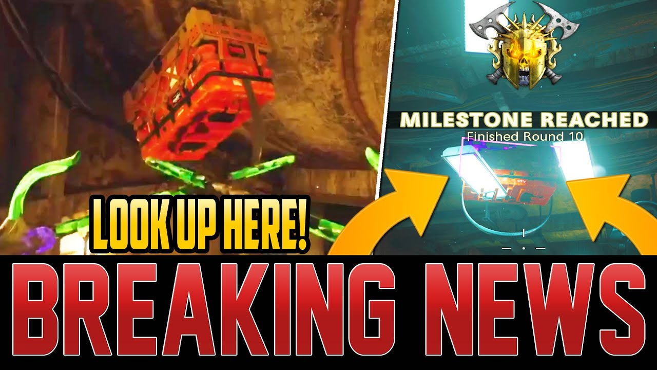 ALL ZOMBIES PLAYERS – LOOK UP FOR YOUR REWARD CRATE!  - TREYARCH REVEALS EVENT! (Cold War Zombies)
