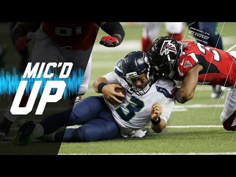 Seahawks vs. Falcons Divisional Round Mic'd Up Highlights | NFL Films | Sound FX