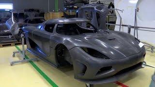 Carbon Fiber Construction - /Inside Koenigsegg thumbnail