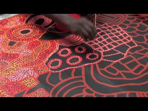 Aboriginal Artist Nellie Marks Nakamarra 1017