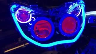 Headlamp NMAX - Variasi nmax - Retrofit Nmax - Projector Hid Nmax - Projie HID Nmax