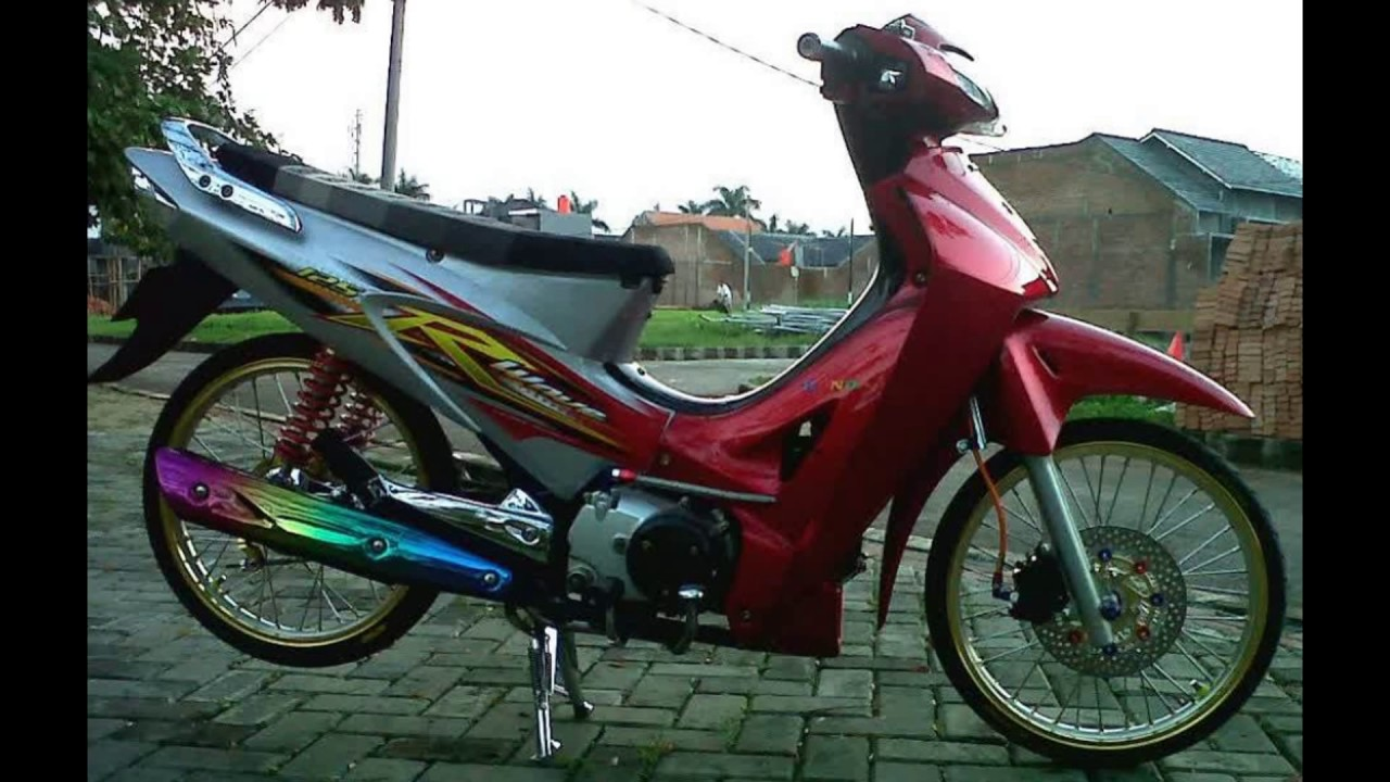 Top Modifikasi Motor Karisma Simple Terbaru Modifikasi Motor