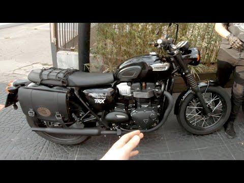 Triumph Bonneville T100 Black: Primeiras Impressões Pilotando A Moto E Gostei!