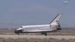 STS-117 Landing at Edwards