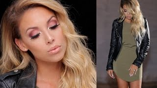 Get Ready with Me: Date Night! Makeup, Hair, Outfit | LustreLux