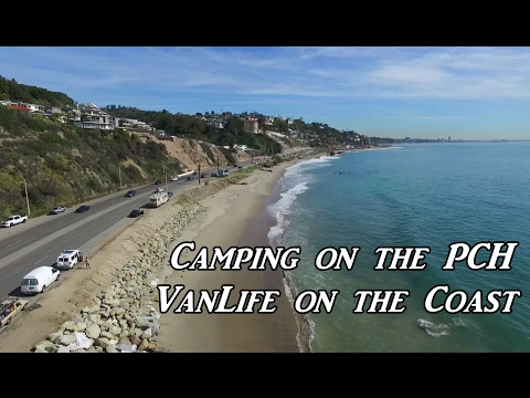 Camping On The PCH Van Life On The Road