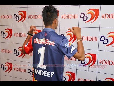 Sandeep Lamichhane's Delhi Daredevils Jersey Unveiling, reveals why '1'