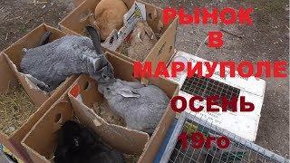 Мариуполь,  Рынок животных  осень 19 го