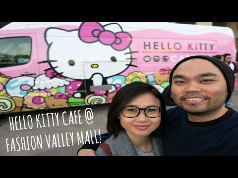 Hello Kitty Cafe at Fashion Valley Mall! - January 17, 2015 | #fancyplusryan Vlogs