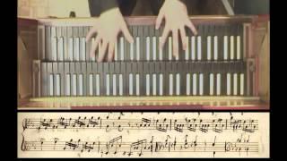 Carlos de Seixas - Tocata 1a - Gianandrea Pauletta ( harpsichord / clavecin / clavicembalo)