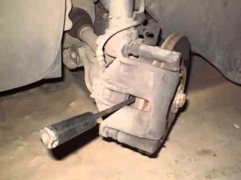 замена передних колодок на фиат дукато