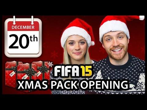 XMAS ADVENT CALENDAR PACK OPENING #20 - FIFA 15 ULTIMATE TEAM