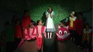 "Hannah Kanter sings ""Very Good Advice"" from the musical ""Alice In Wonderland"""