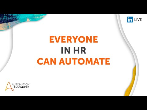 Everyone can Automate 2021 Day 2 - HR