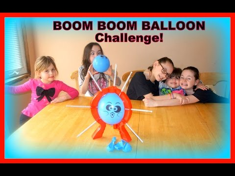 BOOM BOOM BALLOON Challenge - Who Will Be Victorious?