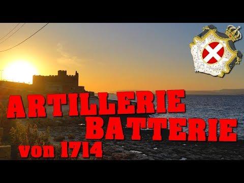 LOST PLACE: 1714 erbaute ARTILLERIEBATTERIE vom Malteserorden!