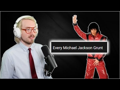 Making A Song Out Of Every Michael Jackson Grunt
