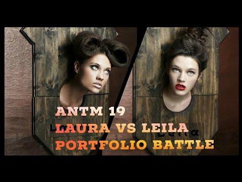 ANTM Cycle 19: Laura James Vs. Leila Goldkuhl Portfolio ...