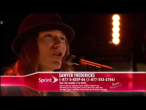 "The Voice 2015 Sawyer Fredericks   Top 12 ""Imagine"
