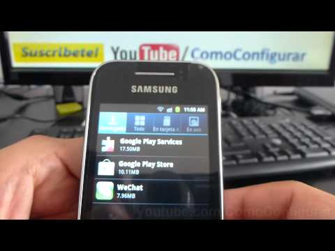 memoria samsung galaxy y gt s5360 español Video Full HD