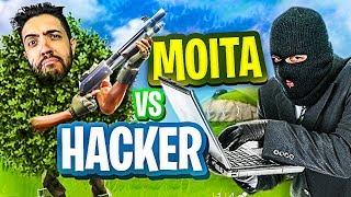 FORTNITE-a MOITA vs a HACKER! WHO WINS?