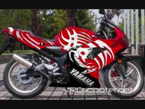 yamaha tzr 50 tuning 2 youtube. Black Bedroom Furniture Sets. Home Design Ideas