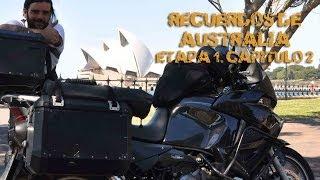 Vuelta al Mundo en Moto | Recordando el viaje a Australia (Sub Eng) #1-2 Charly Sinewan