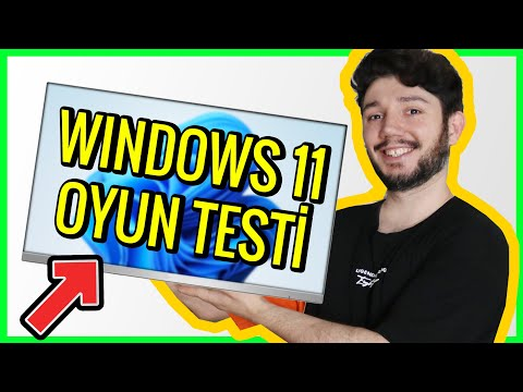 WINDOWS 11 YÜKLEYİP OYUN PERFORMANSINA BAKIYORUM