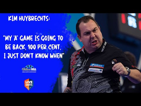 """Kim Huybrechts: """"My 'A' game is going to be back, 100 per cent, I just don't know when"""""""