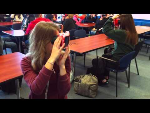 Google Expeditions @ Chicago Academy High School 2015