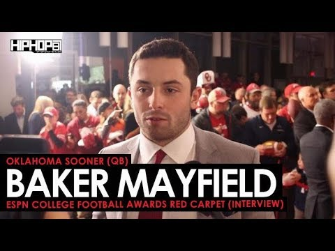 Baker Mayfield Talks Winning AP Player of the Year Honors, the Oklahoma Sooners & More