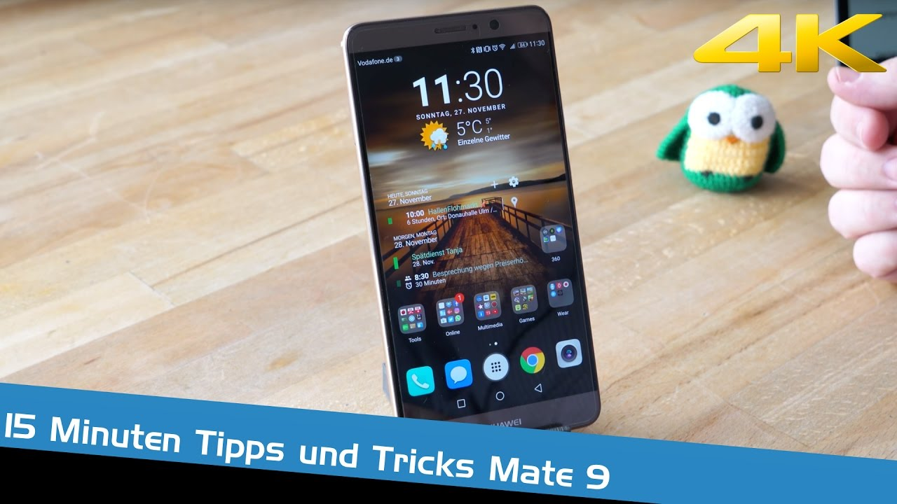 15 minuten tipps und tricks zu android 7 nougat mit emui 5 oberfl che auf dem huawei mate 9. Black Bedroom Furniture Sets. Home Design Ideas