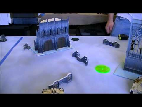 Necrons  vs SpaceWolves  HD Bay Area Scenario 2012