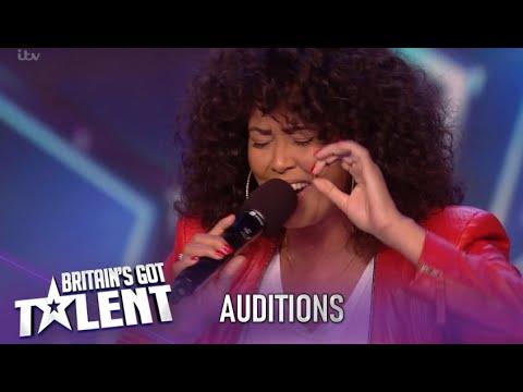 Belinda Davids Singer Takes On Hardest Song Whitney Houston Nails It Britain S Got Talent 2020 Youtube