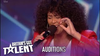 Belinda Davids: Singer Takes On Hardest Song Whitney Houston & NAILS IT!!| Britain's Got Talent 2020