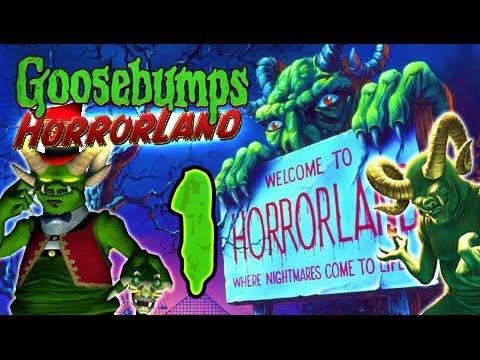 Goosebumps HorrorLand Walkthrough Part 1 (PS2, Wii) ☣ No Commentary ☣
