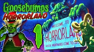 Goosebumps HorrorLand Walkthrough Part 1 (PS2, Wii) ☣ No Commentary ☣