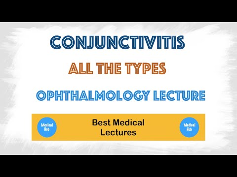 Conjunctivitis(pink eye) in the eye lecture - symptoms, treatment, types mp3