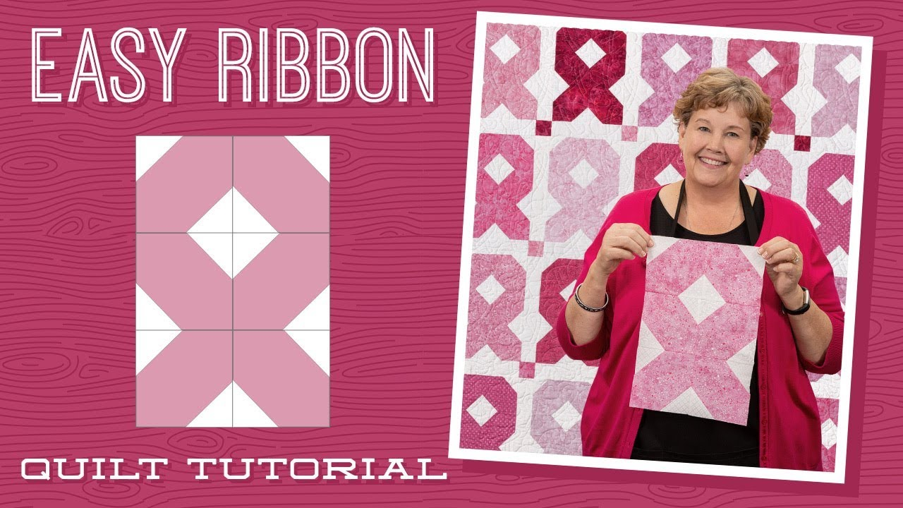 Make An Easy Ribbon Quilt With Jenny