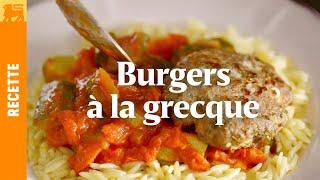 Recettes Delhaize €3 - Burger à la grecque