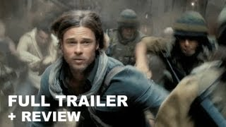 World War Z Official Trailer 2013 + Trailer Review : HD PLUS