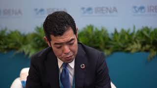 Vice-Minister for Foreign Affairs for Japan Kiyoto Tsuji, at IRENA 9A