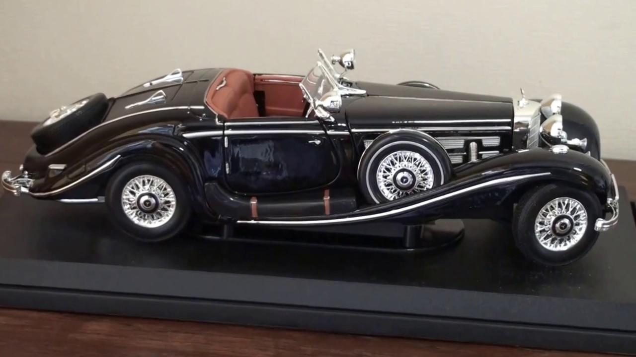 1:18 Scale 1936 Mercedes Benz 500K Model vintage car, รถ ...